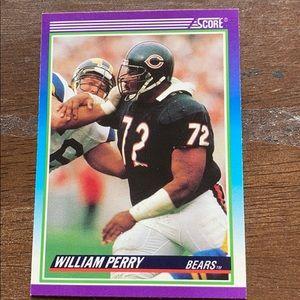 1990 Score 509 William Perry Rare(football card)